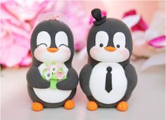 Penguin Cake Toppers.... DIY?