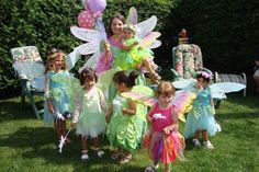 Fairy Parties | ... Party Montreal - Princess Stephanie and Friends: Fairy Parties
