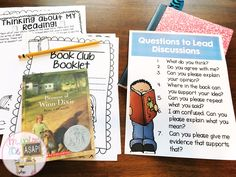 Student-Led Conversations in Book Clubs 3rd Grade Books, 3rd Grade Reading, Third Grade, Kids Book Club, Book Club Books, Reading Strategies, Reading Comprehension, Reading Skills, Teaching Reading