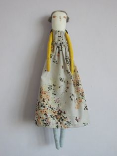 Eloise Handmade cloth and Linen collectable art doll by maidolls, £50.00