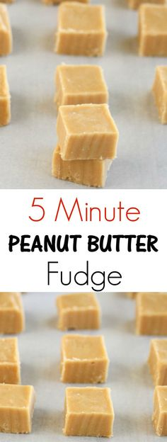 Easy Snacks You Can Make In Minutes - Microwave Peanut Butter FUdge - Quick Recipes and Tricks for Making After Workout and After School Snack - Fast Ideas for Instant Small Meals and Treats - No Bake Microwave and Simple Prep Makes Snacking Fun Fudge Recipes, Candy Recipes, Holiday Recipes, Dessert Recipes, Jello Recipes, Kid Recipes, Whole30 Recipes, Quick Recipes, Snacks Recipes