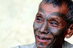 Headhunter - foto gemaakt in Noordoost India
