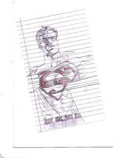 Sketched this in recess, hence the ruled paper.