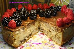 Vegan Super Creamy Vanilla dream cheesecake with by VEGANLOTUS, $35.00