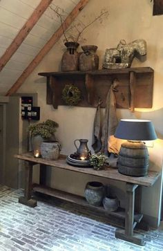 Looking to transform your home into a rustic retreat? Take a look at our farmhouse-inspired rustic home decor ideas. Decor, House Design, Interior, Country Decor, Rustic Decor, Home Decor, House Interior, Home Deco, Rustic House