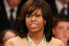 It's official: Michelle Obama's bangs are the most contentious global issue ever. The first lady and her fringe headed to Belfast for this year's G8 summit, where she made a speech that sparked mass Twitter debate.