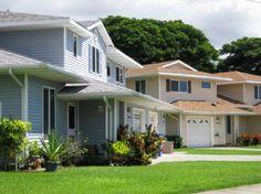 Navy Region Hawaii – Pearl City Peninsula Neighborhood:  2-4 bedroom homes designated for E1-O6.