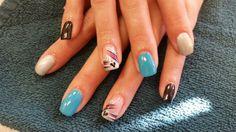 We stay CND SHELLAC! And Hand drawn nail art. Hollywood Hair, Cnd Shellac, Hair Designs, Hand Drawn, How To Draw Hands, Nail Art, Nails, Finger Nails, Hair Models