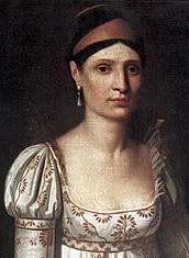 Elisa Bonaparte by François Joseph Kinson