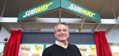 Fred DeLuca - Italian American who founded Subway chain.