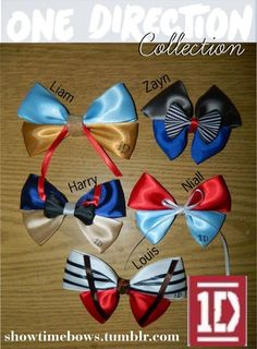 One Directon Hair Bows or Bow Tie
