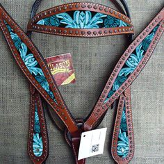 New Western Horse Headstall Breast Collar Set Tack American Leather Turquoise sold by Hilason Saddles & Tack Horse Gear, Horse Tips, My Horse, Horse Riding, Equestrian Boots, Equestrian Outfits, Equestrian Style, Equestrian Problems, Equestrian Fashion