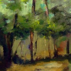 Tree- Glade, Art Print by Nicki Heenan via Cloud 9 Gallery. Click on the image to see more!