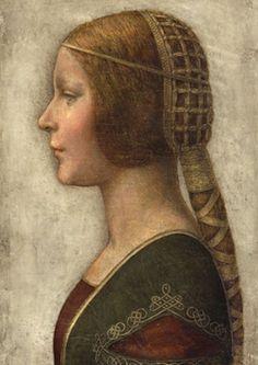 La belle Milanaise, par Léonard de Vinci