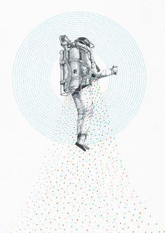 Rocket Man by Yoshinori Kobayashi