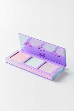 Anastasia Beverly Hills Moonchild Glow Kit Lime Crime Hi-Lite Electric Highlighter Palette Make Up Kits, Kids Makeup, Cute Makeup, Preteen Makeup, Makeup Palette, Eyeshadow Palette, Eyeshadows, Lime Crime, Diy Beauty