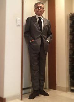 Ring Jacket's grey suit — Y.T