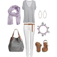Lavender and Gray