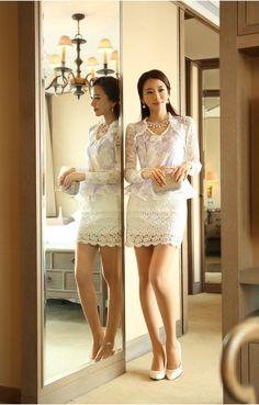 Korean Women`s Fashion Shopping Mall, Styleonme. Pretty Asian, Beautiful Asian Women, Beautiful Girl Image, Asian Fashion, Girl Fashion, Fashion Outfits, Womens Fashion, Asian Woman, Asian Girl