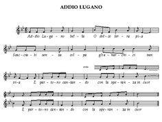 ADDIO A LUGANO Pietro Gori - 1895