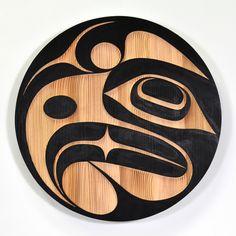 Tattoos Brownie sheila g brownie brittle singapore Driftwood Sculpture, Sculpture Art, Sculptures, Arte Tribal, Tribal Art, Native Art, Native American Art, Haida Art, Inuit Art