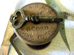 Antique Sewing Cabinet Key
