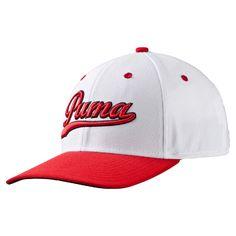 Casquette script fitted blanc Puma PUMA - Golf Plus