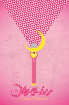 #SailorMoon minimalist poster