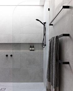 Amazing DIY Bathroom Ideas, Bathroom Decor, Bathroom Remodel and Bathroom Projects to assist inspire your master bathroom dreams and goals. Bathroom Layout, Modern Bathroom Design, Bathroom Interior Design, Bathroom Ideas, Bathroom Organization, Minimal Bathroom, Bathroom Designs, Tile Layout, Shower Designs