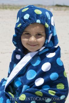 Tutorial: Hooded Beach Towel Backpack