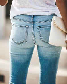 High + Mighty Distressed High Rise Skinny – VICI Latest Jeans, Racerback Tank, Skinny Jeans, Denim, Cotton, Pants, Fashion, Trouser Pants, Moda