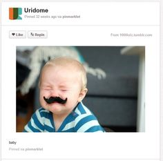 Baby Photography Ideas Props Grownup Moustache