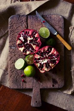 Pomegranate and Lime | Hannah Blackmore