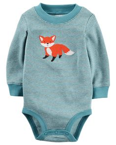 Baby Boy Fox Collectible Bodysuit from Carters.com. Shop clothing & accessories from a trusted name in kids, toddlers, and baby clothes.