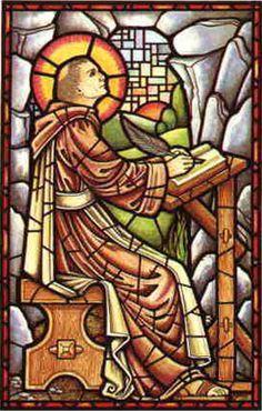 St. Columbanus  --  Feastday: November 24:   Patron of motorcyclists