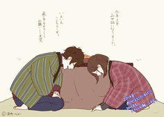 i feel like Yamarue would be cute doing all the traditional stuff o3o
