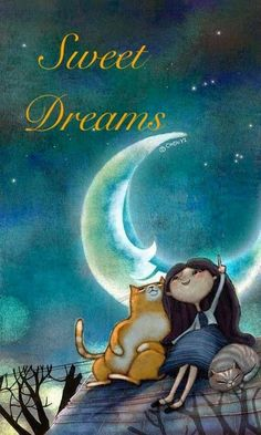 Moonlit kitties, 2019 gatos, buenas noches ve ilustraciones. Art And Illustration, Illustrations, Cute Good Night, Good Night Images Cute, Good Night For Him, Good Night Gif, Good Night Sweet Dreams, Good Night Moon, Beautiful Moon