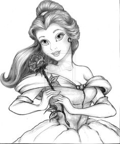 Princess+Belle+by+linus108Nicole.deviantart.com+on+@deviantART