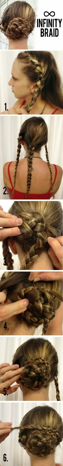 Learn How To Create This Gorgeous Infinity Braid in Just a Few Simple Steps