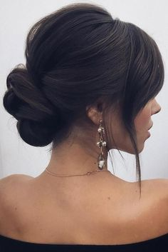 30 Wedding Hairstyles 2019 Ideas ❤️ We have collected wedding makeup ideas b., Frisuren,, 30 Wedding Hairstyles 2019 Ideas ❤️ We have collected wedding makeup ideas based on the wedding fashion week. Look through our gallery of wedding . Wedding Hairstyles For Long Hair, Wedding Hair And Makeup, Bride Hairstyles, Hair Makeup, Low Bun Wedding Hair, Low Bun Hairstyles, Wedding Nails, Elegant Wedding Hairstyles, Bridesmaid Hair Updo Elegant