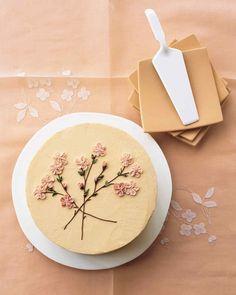 Pretty Birthday Cakes, Pretty Cakes, Beautiful Cakes, Amazing Cakes, Cake Birthday, Birthday Cake Decorating, Easy Cake Decorating, Mini Cakes, Cupcake Cakes
