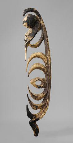 Figure (Yipwon) Yimam people, Korewori River, Middle Sepik region, Papua New Guinea The Metropolitan Museum of Art Wood Sculpture, Sculptures, Polynesian Art, Art Premier, Indigenous Art, Ocean Art, Papua New Guinea, Tribal Art, Ancient Art