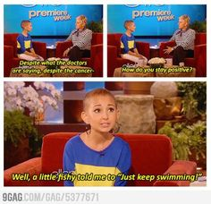 RIP Talia, You are an inspiration to many people and always will be. Just keep swimming.