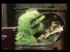 "Classic Sesame Street - Oscar sings ""I Love Trash"" (1970) - YouTube"