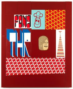 Barry McGee <em>Untitled</em>, 2012 Acrylic on panel 69.5 x 57 inches