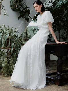 From bridal designers to luxury and high-street retailers, click through for the intel on what the fashion bridal industry looks like right now. Satin Gown, Satin Dresses, Gowns, Bridal Looks, Bridal Style, Asos Wedding Dress, Affordable Wedding Dresses, Poplin Dress, Buy Dress