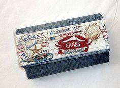 Peňaženka z rifloviny-