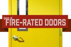 Types of Fire Rated Doors