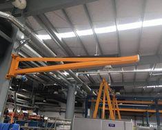 Esta máquina es un tipo de las grúas pluma giratoria.  Es fácil de operar y se ocupa menos espacio.   E-mail: sales@aicrane.com.mx