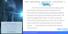 Read The Dreamer Awakens from the story The Doorway To Seven Realms by DemonPup with 46 reads. Wattpad Authors, Deep Purple, My Eyes, Mists, The Dreamers, The Voice, Reading, Books, Libros